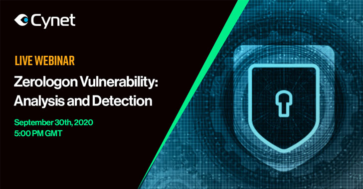 Live Webinar On Zerologon Vulnerability: Technical Analysis And Detection