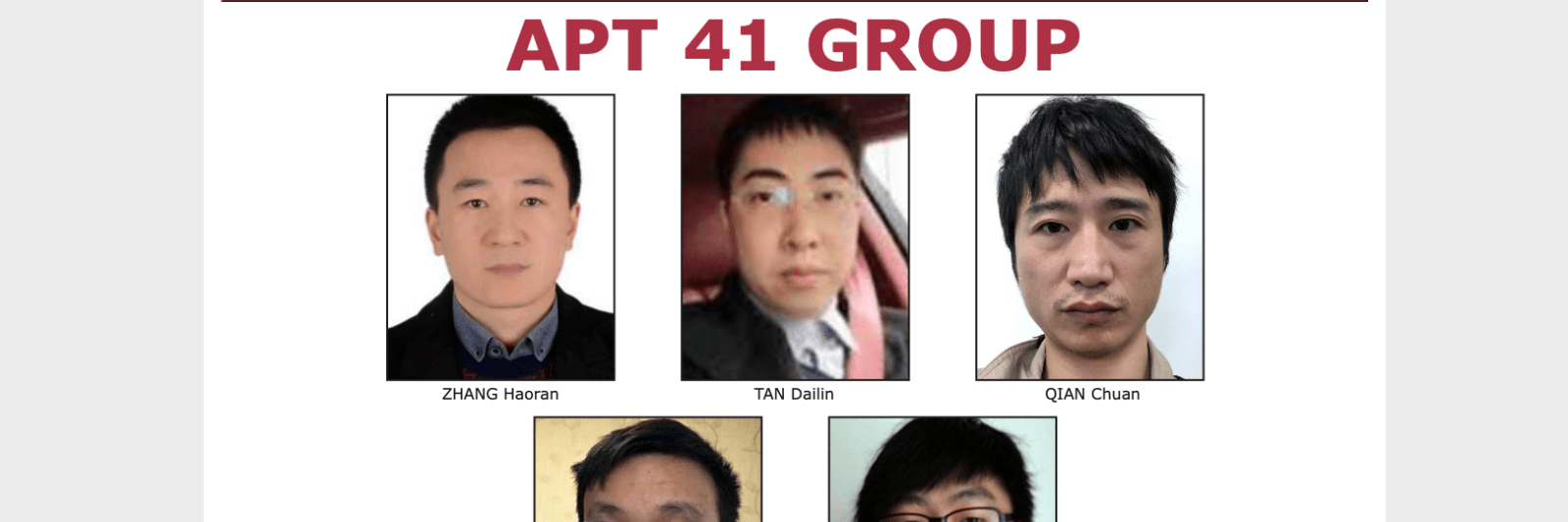 U.s. Charges 7 Alleged State Sanctioned Chinese Hackers