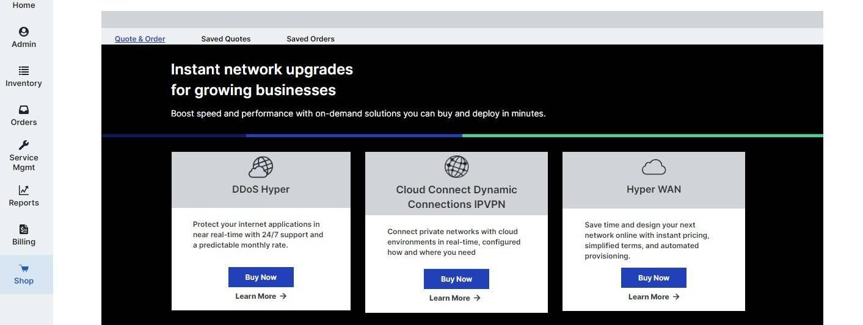 Lumen's Digital Portal Simplifies The Ordering Of It Solutions