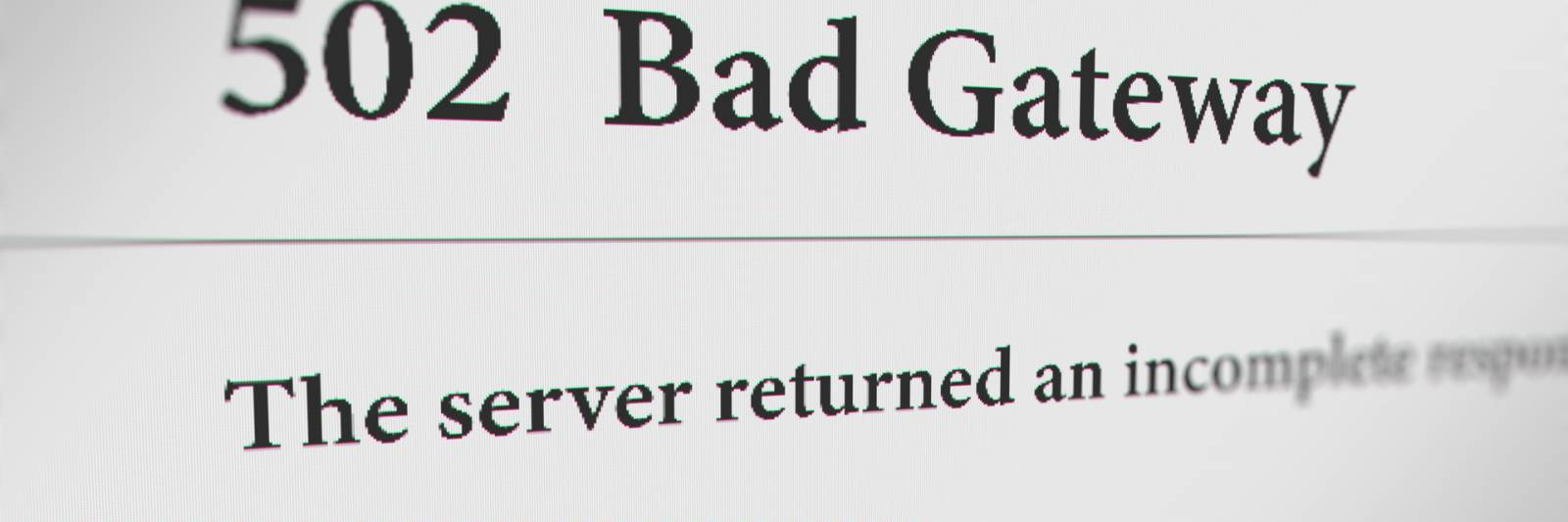 What Is A502 Bad Gateway And How Do You Fix