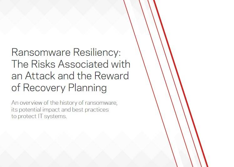 Ransomware Resiliency: The Risks Associated With An Attack And The