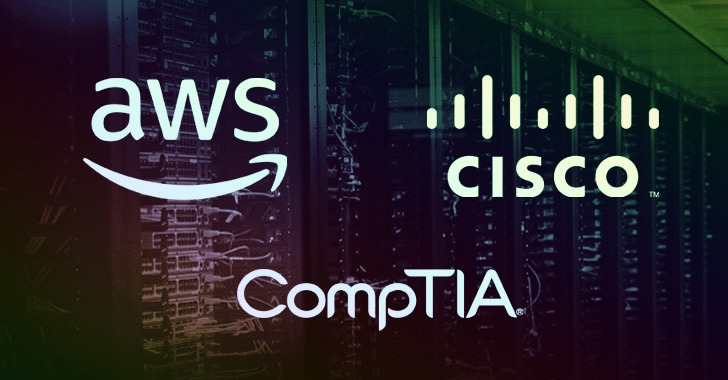 Aws, Cisco, And Comptia Exam Prep — Get 22 Courses