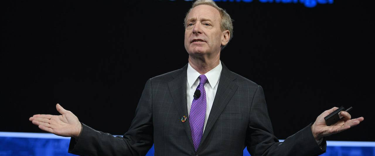 As Microsoft Confirms Breach, President Brad Smith Argues For Federal