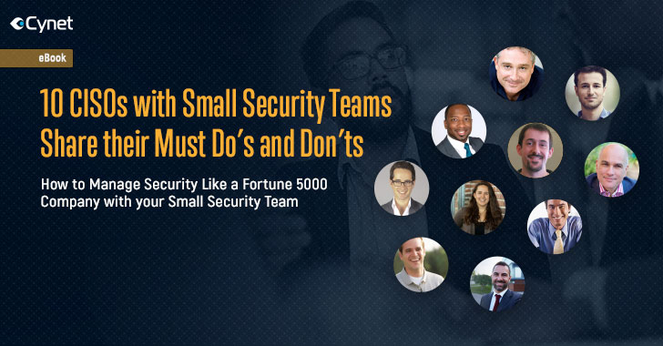 Ciso With A Small Security Team? Learn From Your Peers'
