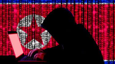 North Korean cyber criminal in action
