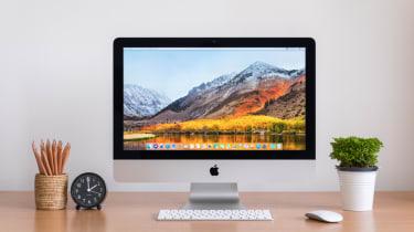 macOS on a iMac desktop computer