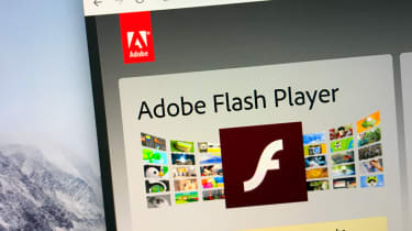 The Adobe Flash Player website as seen on a browser