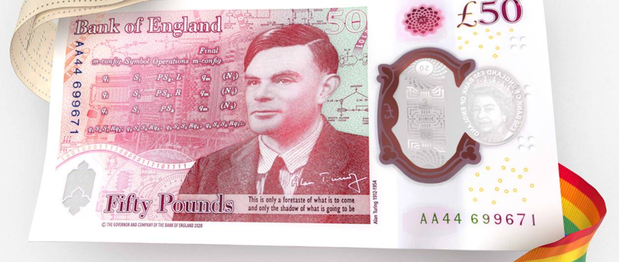design for alan turing £50 note revealed