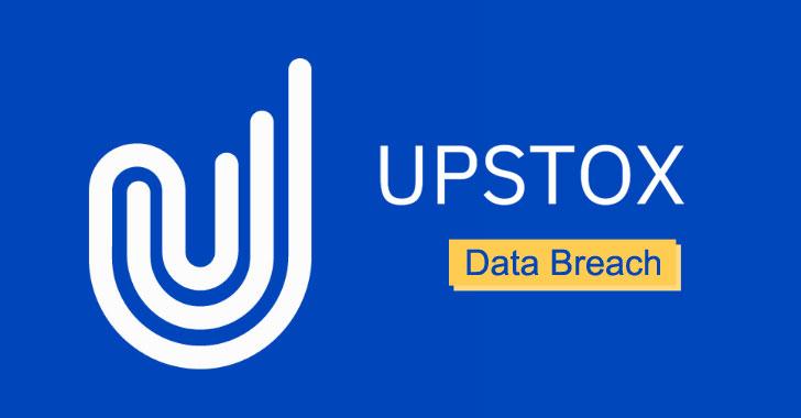 indian brokerage firm upstox suffers data breach leaking 2.5 millions