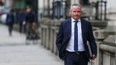 Chief Executive of the HSE Paul Reid walking