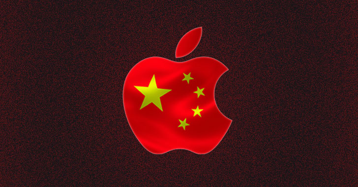 how apple gave chinese government access to icloud data and