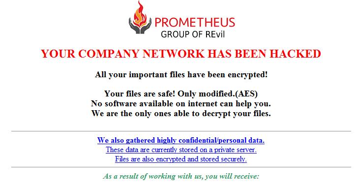 emerging ransomware targets dozens of businesses worldwide