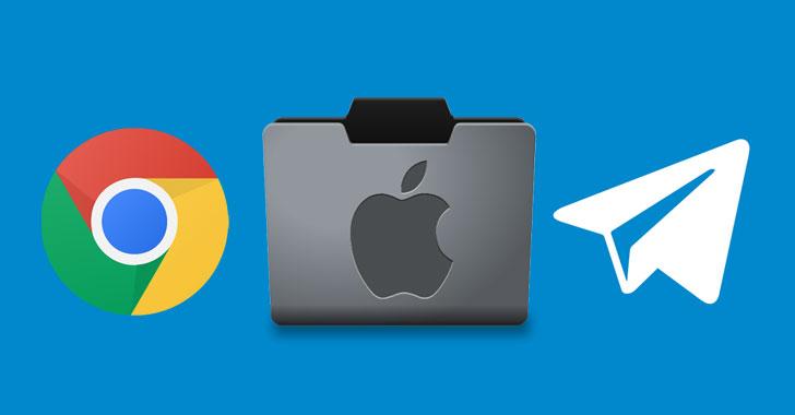 nasty macos malware xcsset now targets google chrome, telegram software