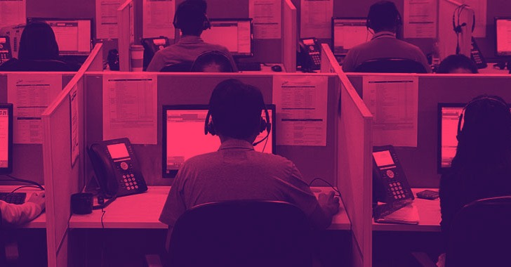 phony call centers tricking users into installing ransomware and data stealers