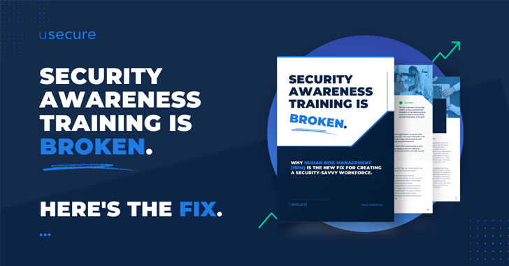 security awareness training is broken. human risk management (hrm) is