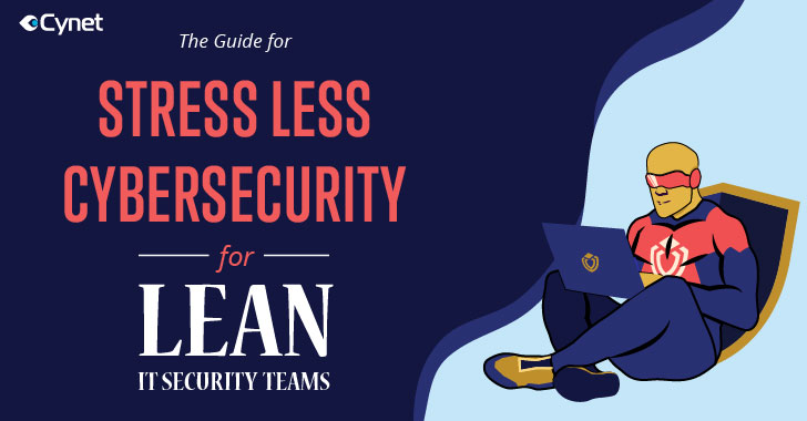 [ebook] a guide to stress free cybersecurity for lean it security