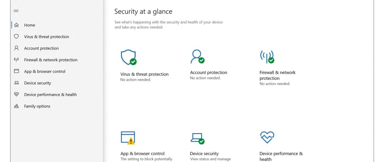 microsoft windows security review: minimum effort