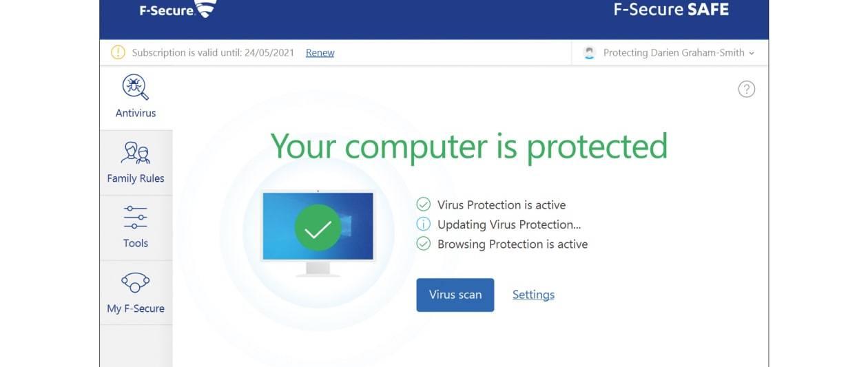 f secure safe review: laser focused security