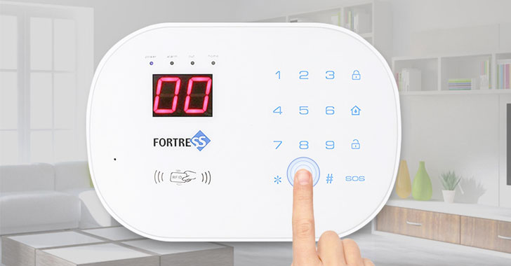 attackers can remotely disable fortress wi fi home security alarms