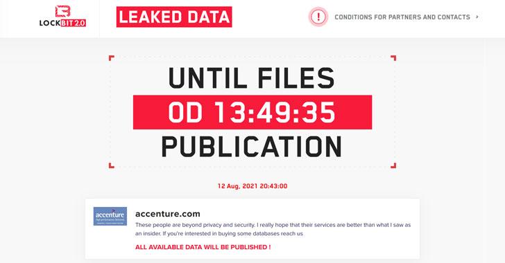 it giant accenture hit by lockbit ransomware; hackers threaten to
