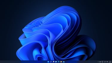 The Windows 11 Desktop in dark mode