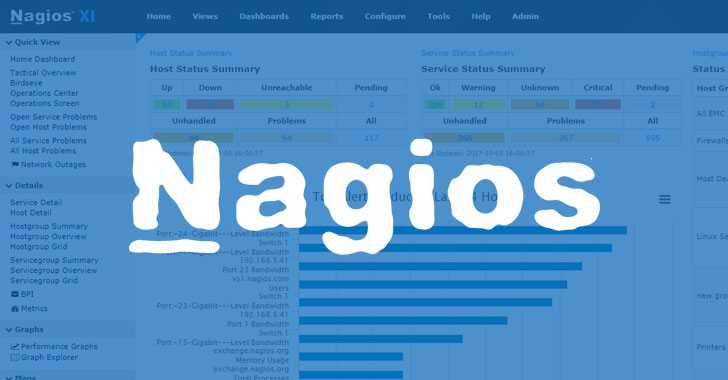 new nagios software bugs could let hackers take over it