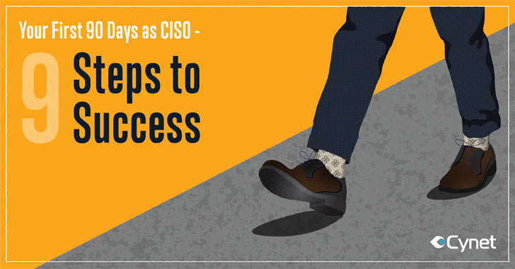[ebook] your first 90 days as ciso — 9 steps
