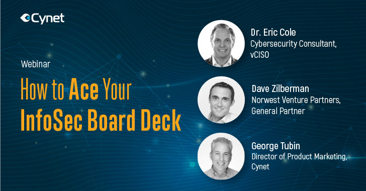 cyber security webinar — how to ace your infosec board